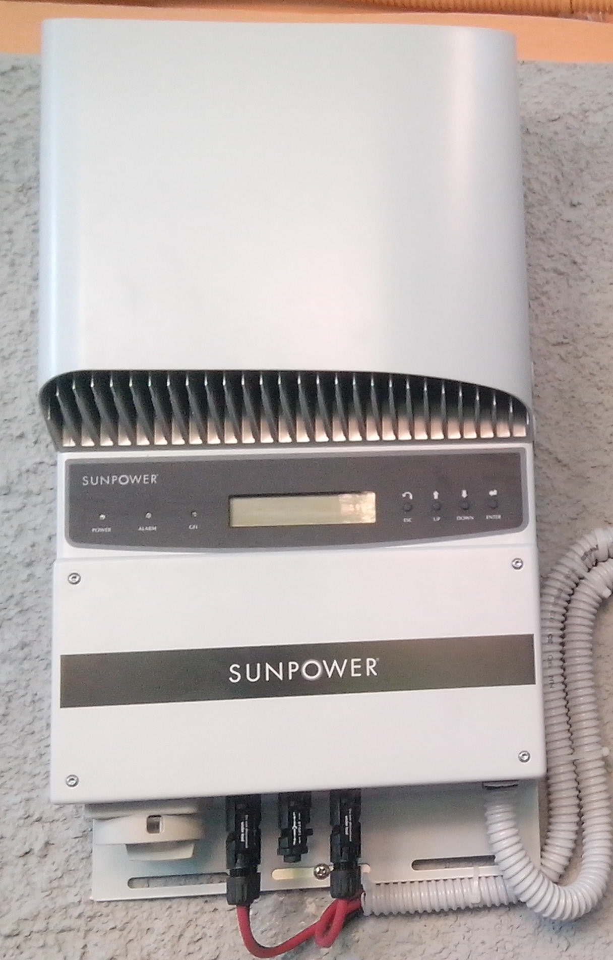 Inverter con brand SunPower Power One